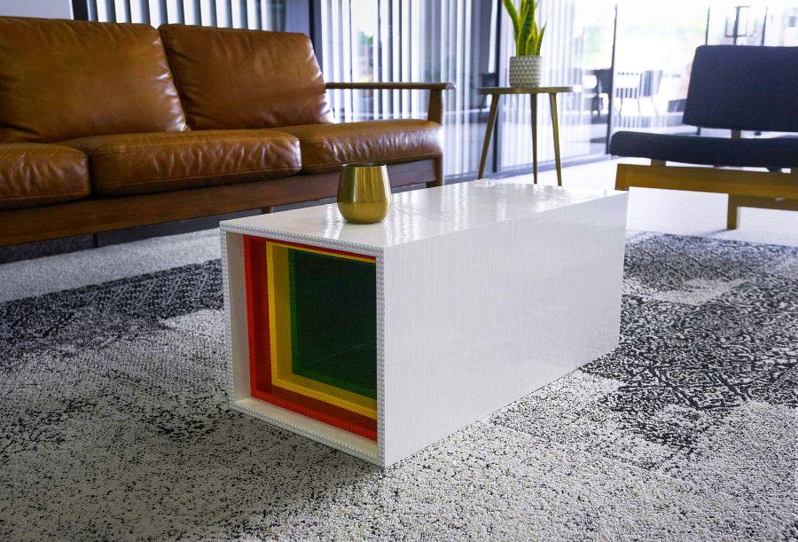 Lego Coffee Table by Yusong Zhang