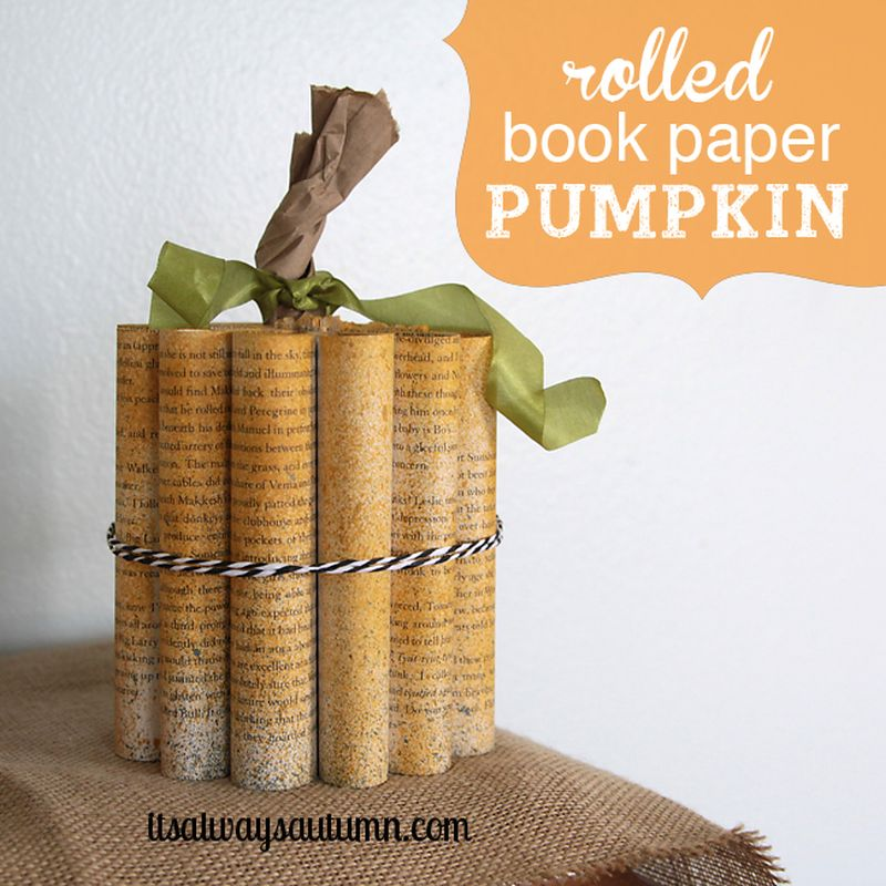 15+ DIY Halloween Pumpkin Decorations from Different Materials