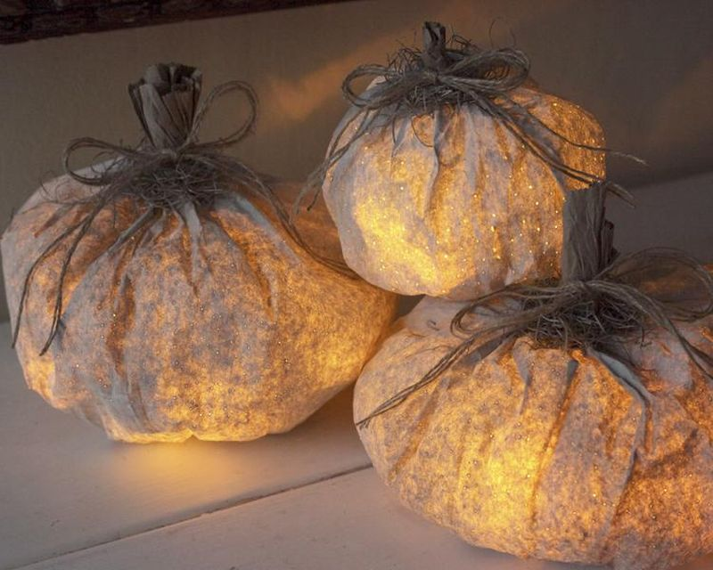 Paper Pumpkin Craft ideas