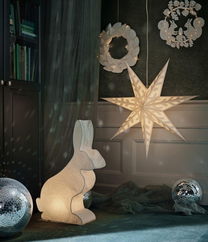 STRÅLA snowflake Lamp shade
