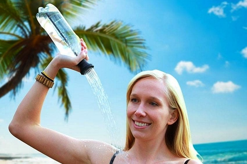 Simple Shower Portable Camping Shower