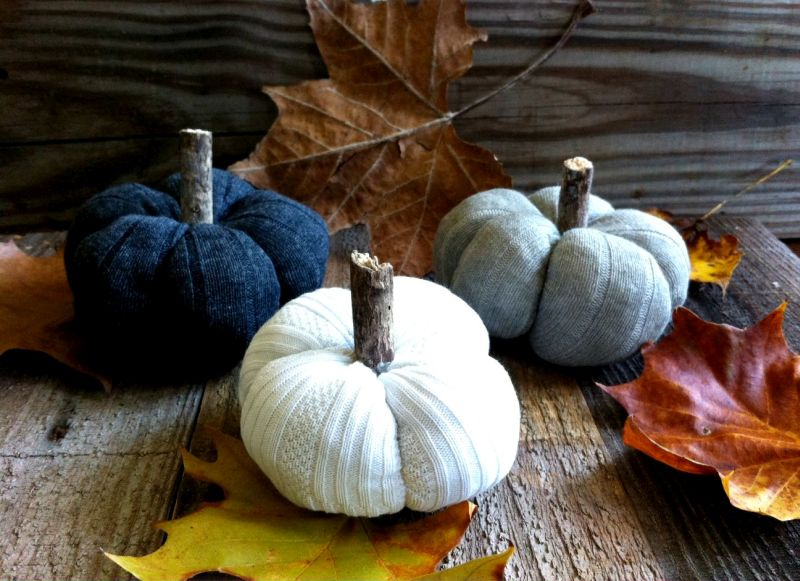 DIY Sock Pumpkin