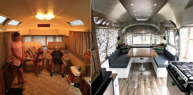 This Renovated Airstream Trailer Houses a Family of Six_29