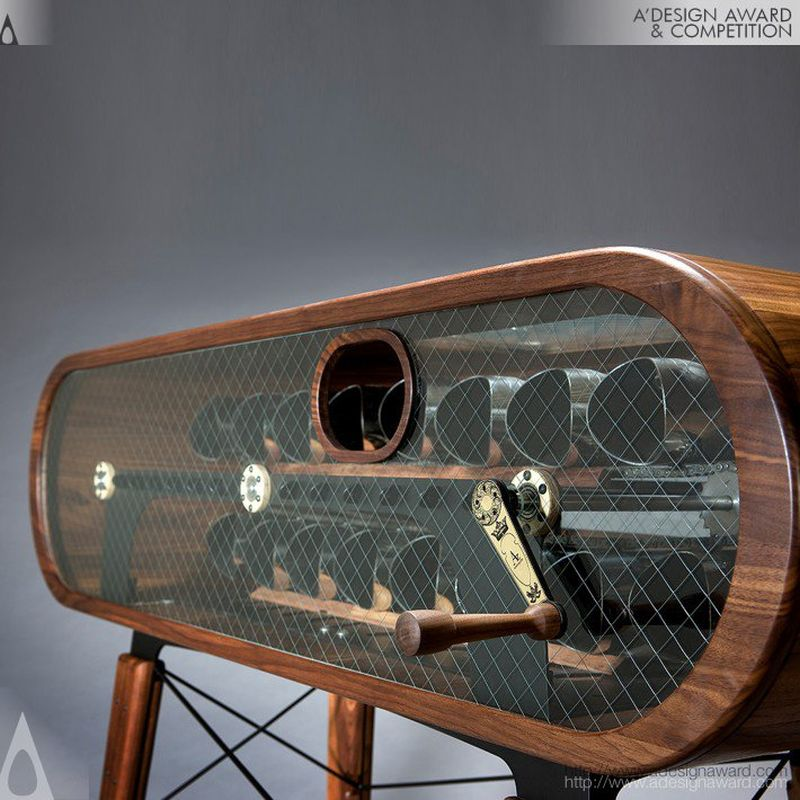 Wine credenza II by Han Sung-Jae of Analogizm