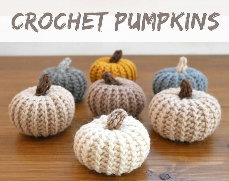 Yarn pumpkiin ideas