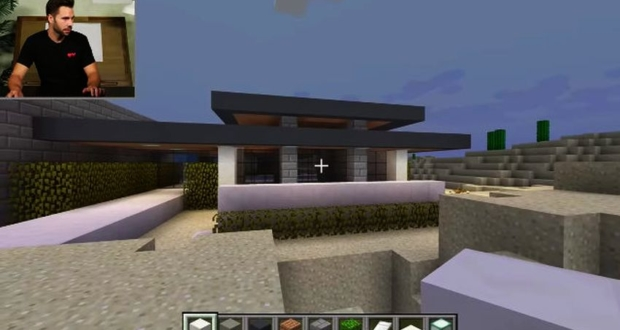 Aarchitect builds Mansion in Minecraft