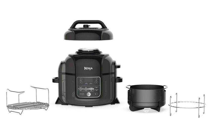 Ninja Foodi Pressure Cooker Is Oven Steamer Air Fryer Amp More