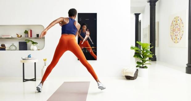 smart mirror gym