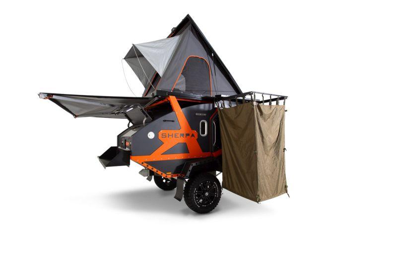 BRS Offroad Sherpa Teardrop Camping Trailer