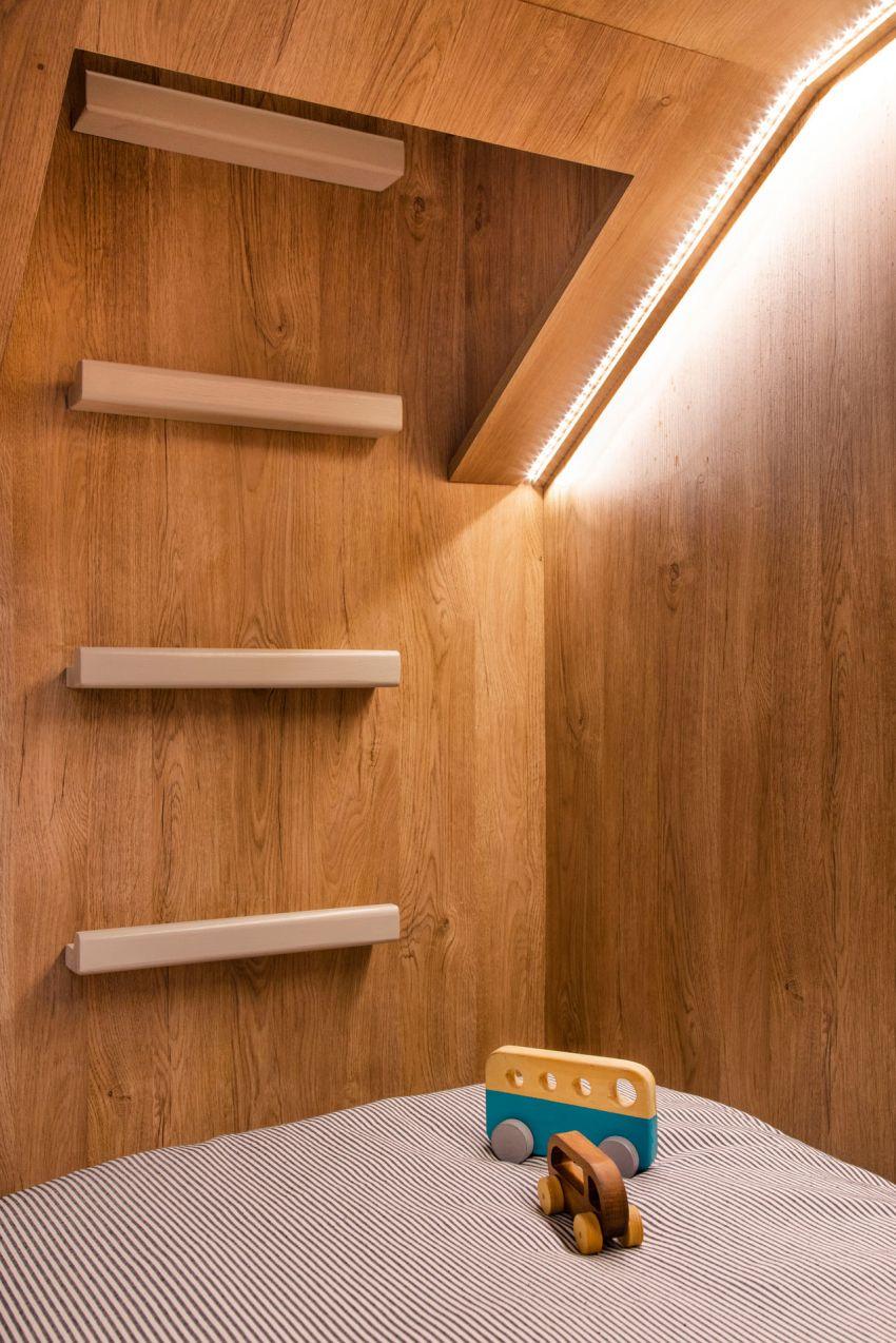 Bear Cave Bedroom for Kids