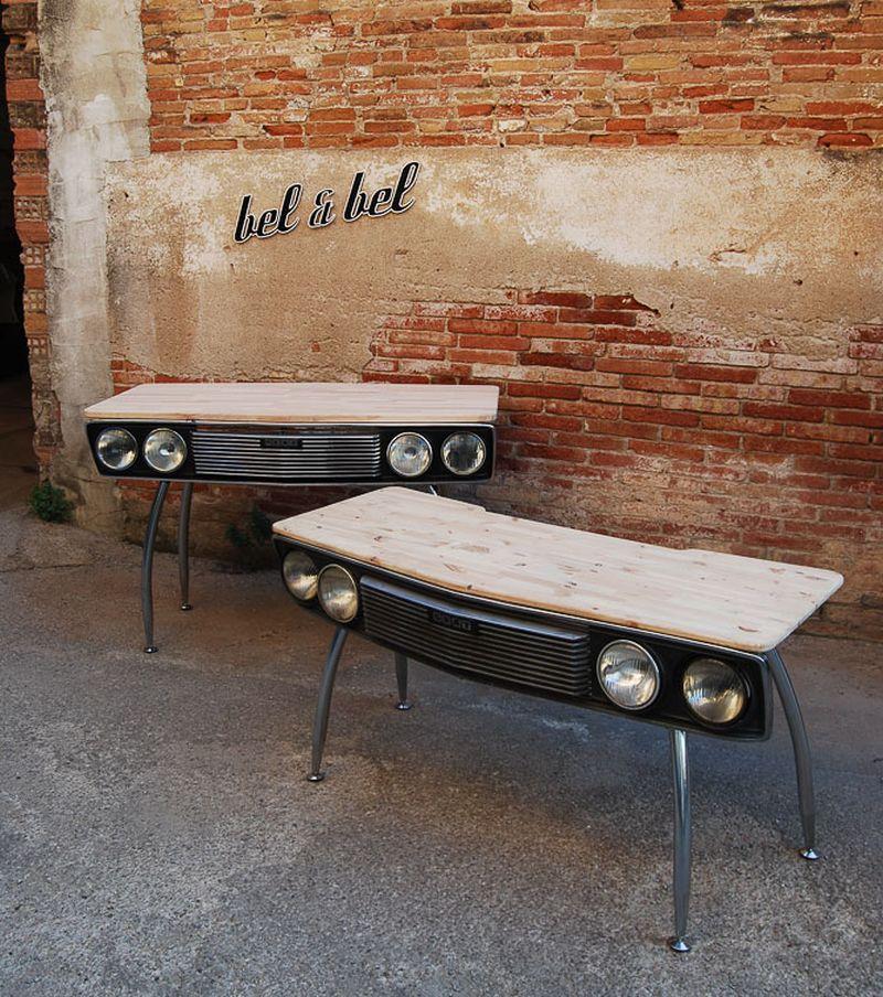 Car Desk 132 by Bel & Bel