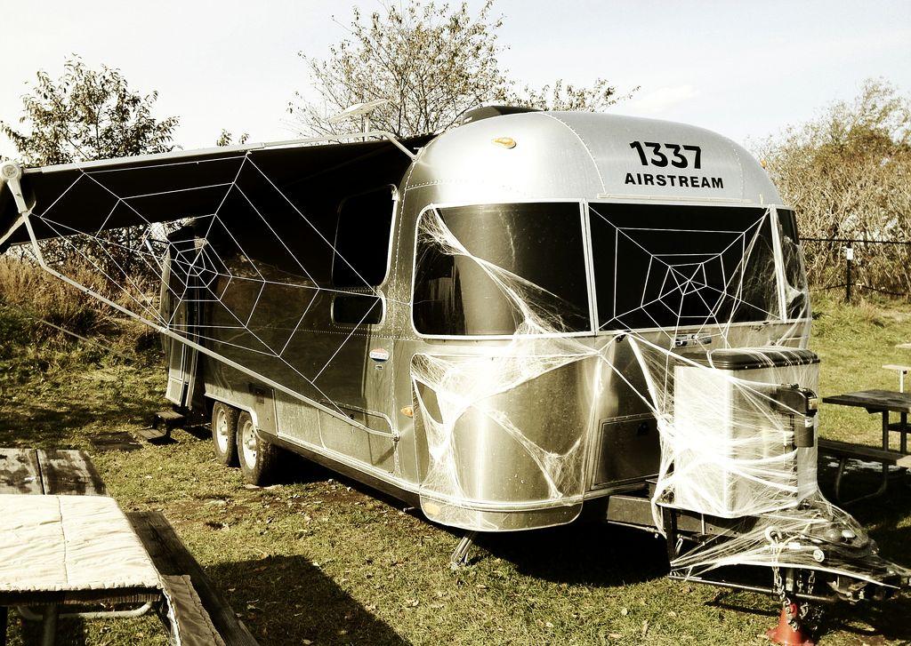 Celebrate Halloween - Tiny House on Wheels - Airstream