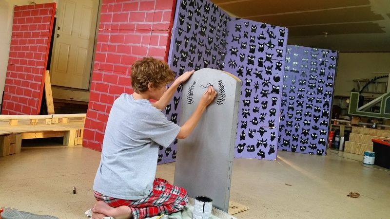 Engineer Dad Builds Disney-Inspired Roller Coaster Ride in Basement
