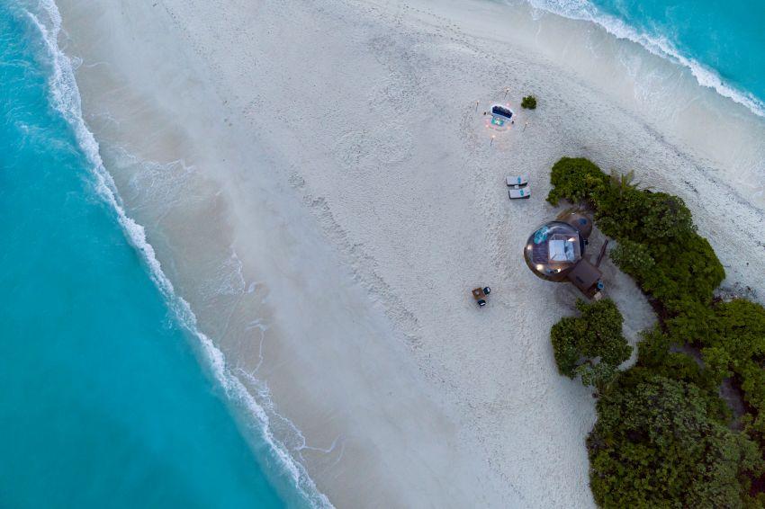 Finolhu Beach Bubble Tent - Glamping