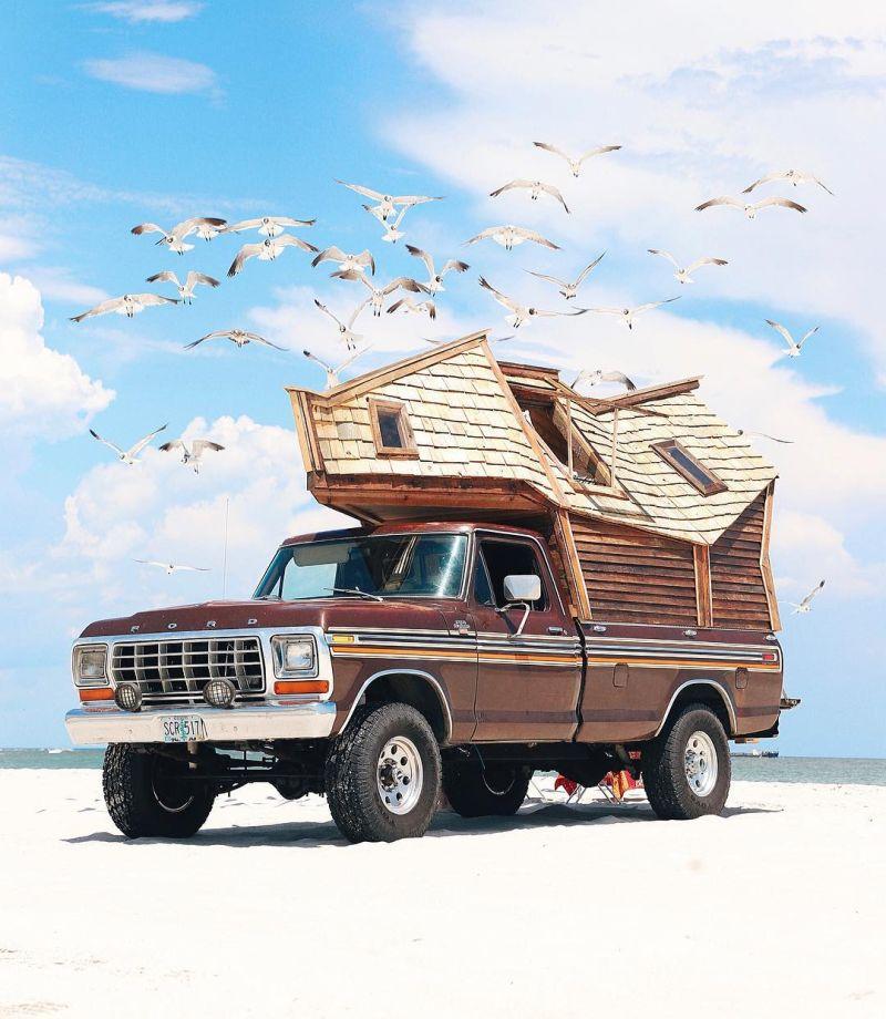 Jacob Witzling Builds Unique Truck Cabin