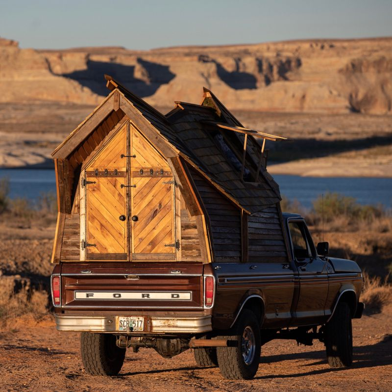 Jacob Witzling Builds Unique Truck Cabin