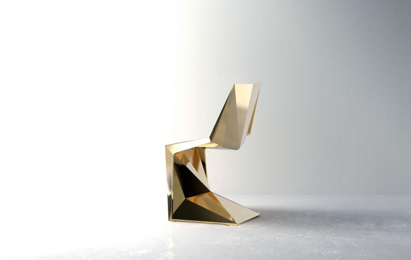 Karim Rashid Designs Voxel Chair for Vondom