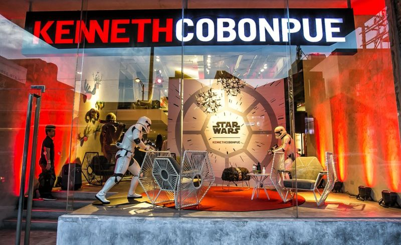 Kenneth Cobonpue's Star Wars furniture