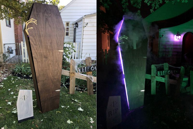 Know How to Make a Halloween Coffin Prop