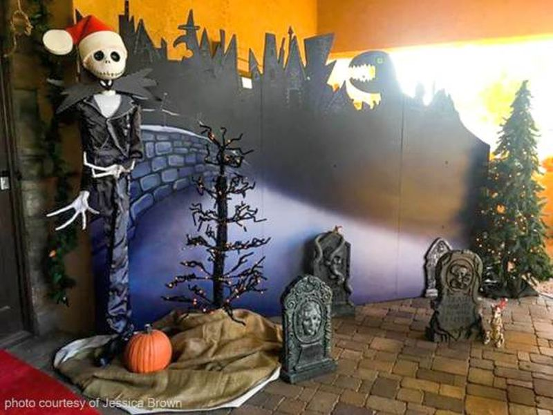 The Nightmare Before Christmas Themed Monster House In Arizona