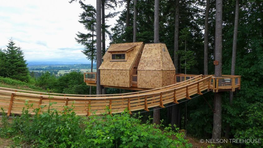 Pete Nelson S Rustic Treehouse In Oregon Premiers On Masters