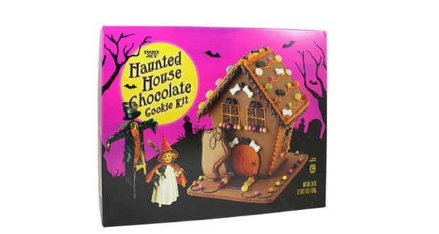Trader Joe's $8 Haunted Gingerbread House Kit for Halloween
