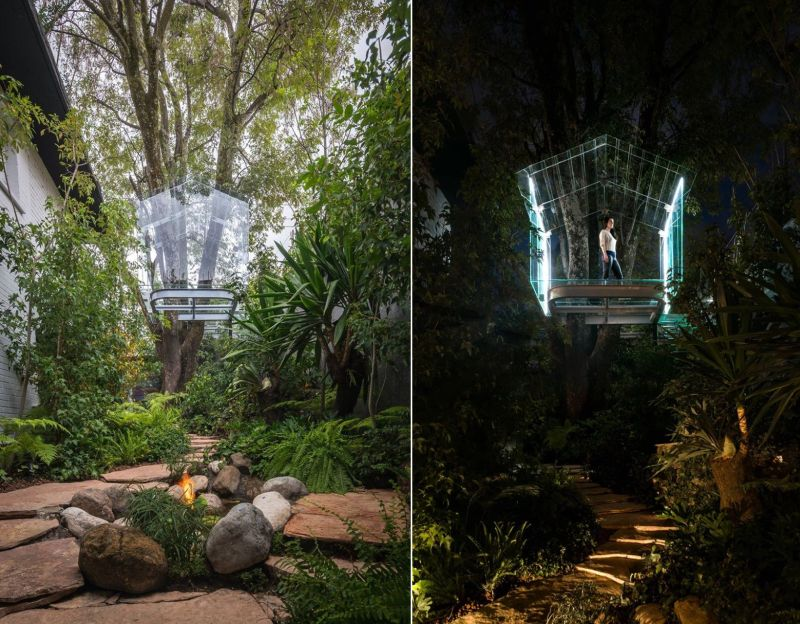 Transparent Treehouse by Gerardo Broissin