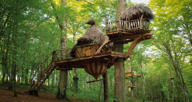 drommen treehouse France