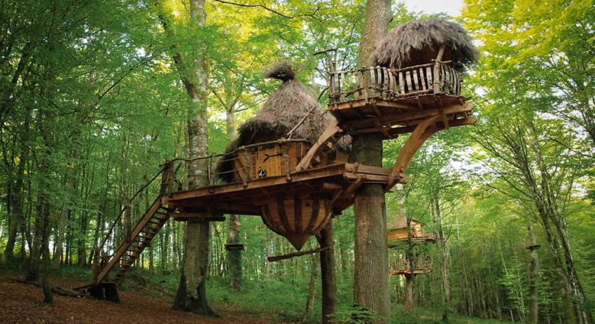 drommen treehouse France