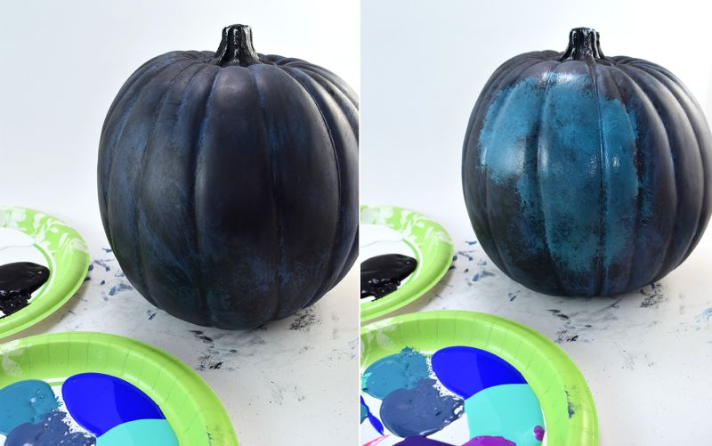 Galaxy Pumpkins to Spice Up Your Halloween