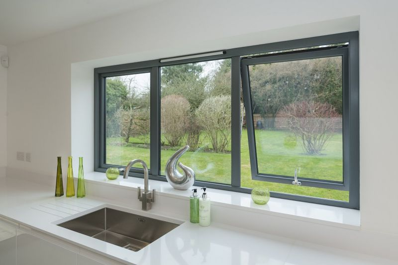 Modern Awning windows for kitchen