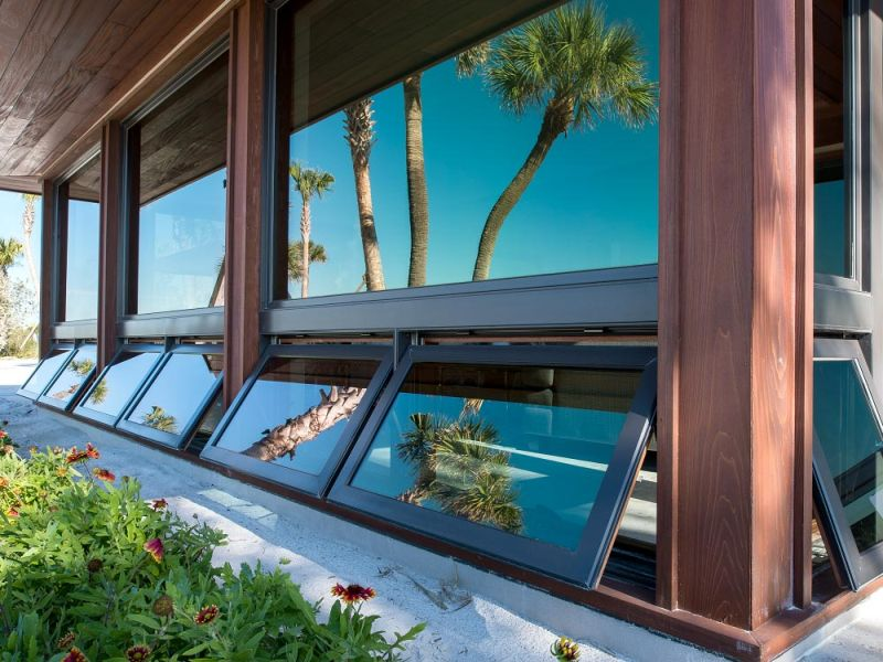 Modern Awning windows design