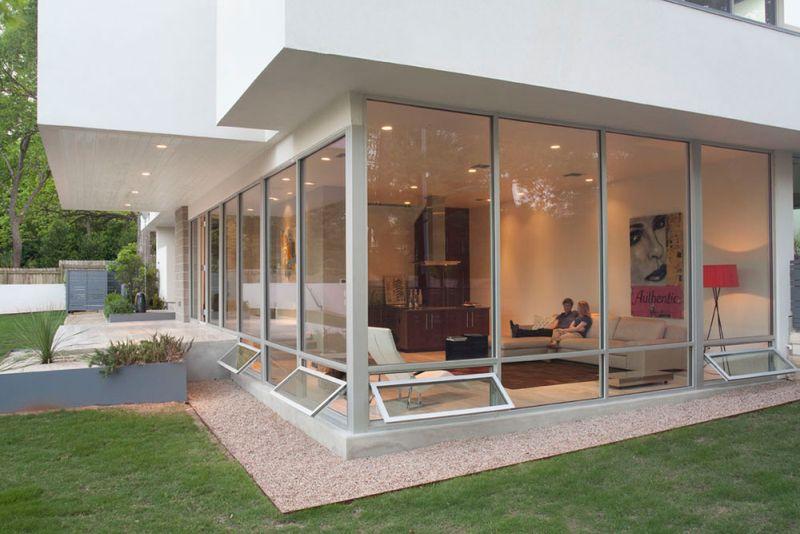 Modern Awning windows for living room