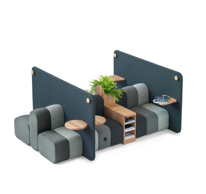 Bob Job Modular Work Sofa by Blå Station