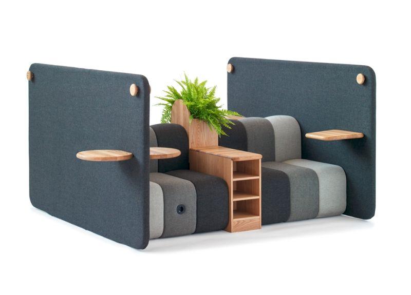 Bob Job Modular Work Sofa by Blå Station