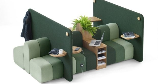 Bob Job Modular Work Sofa by Blå Station_8
