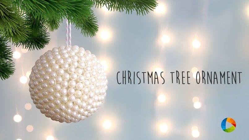 Ball Christmas Tree Ornament