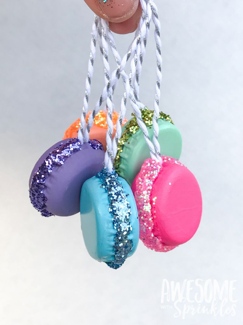 DIY French Macaron Ornaments