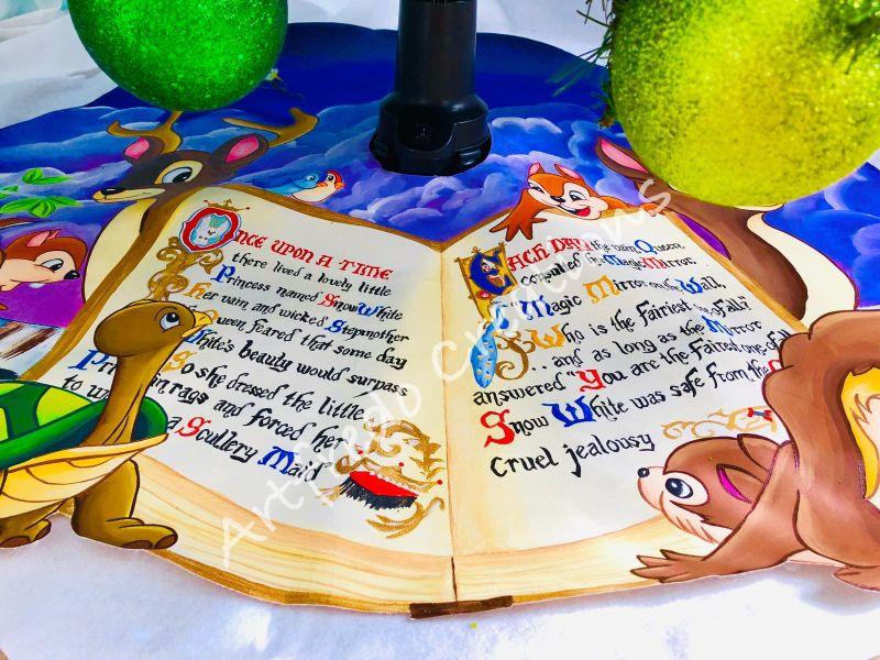 Disney-Themed Christmas Tree by Alfredo Majuri Vargas