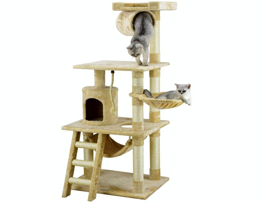 Go Pet Club Cat Tree - Gift ideas for cat lovers