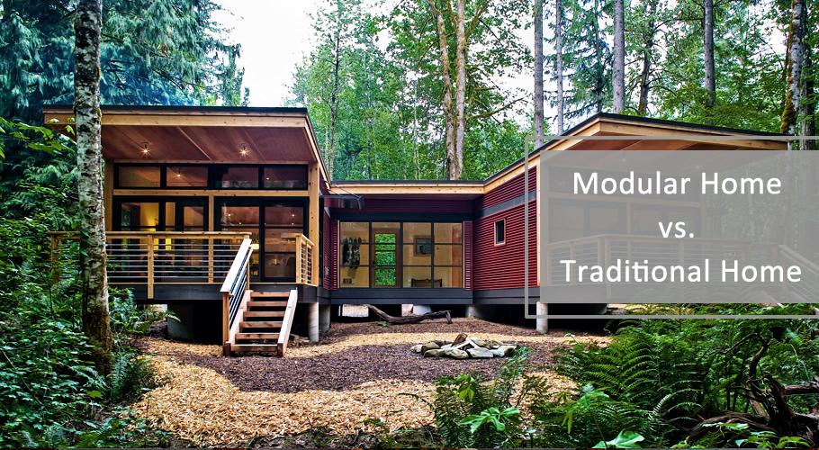 Modular Home vs. Traditional Home