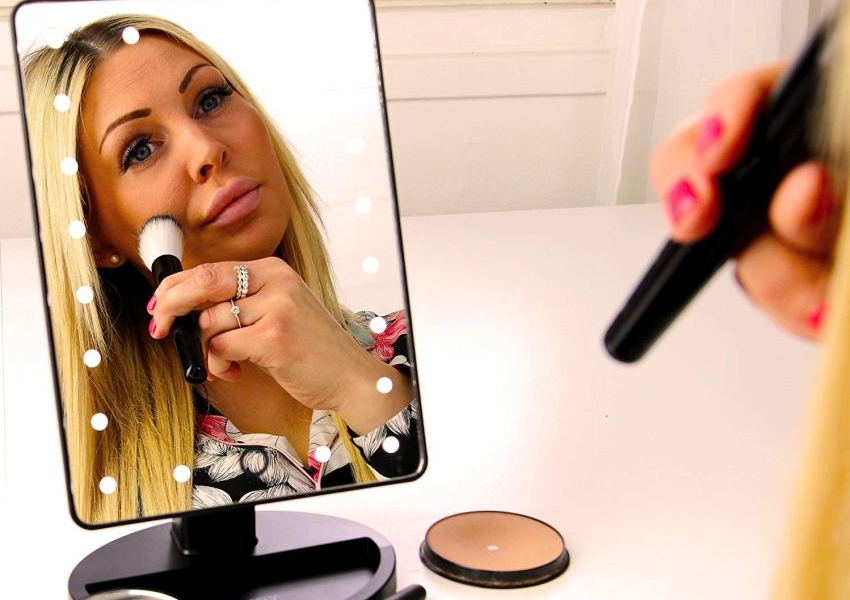 Natural Daylight Lighted Makeup Mirror - Gifts for Her
