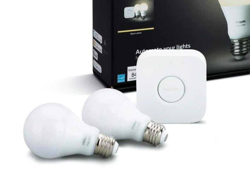 Philips Hue White LED Smart Bulb Starter Kit
