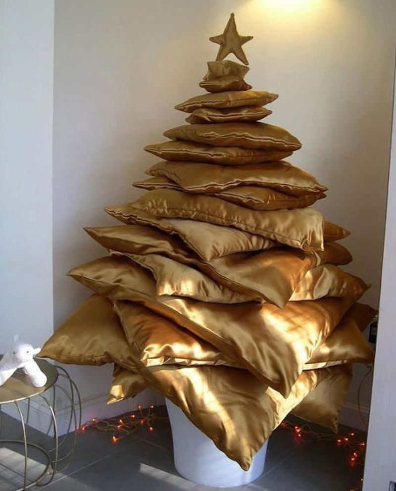 Pillow Christmas Trees