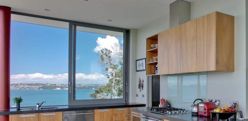 Modern Slider windows for kitchen