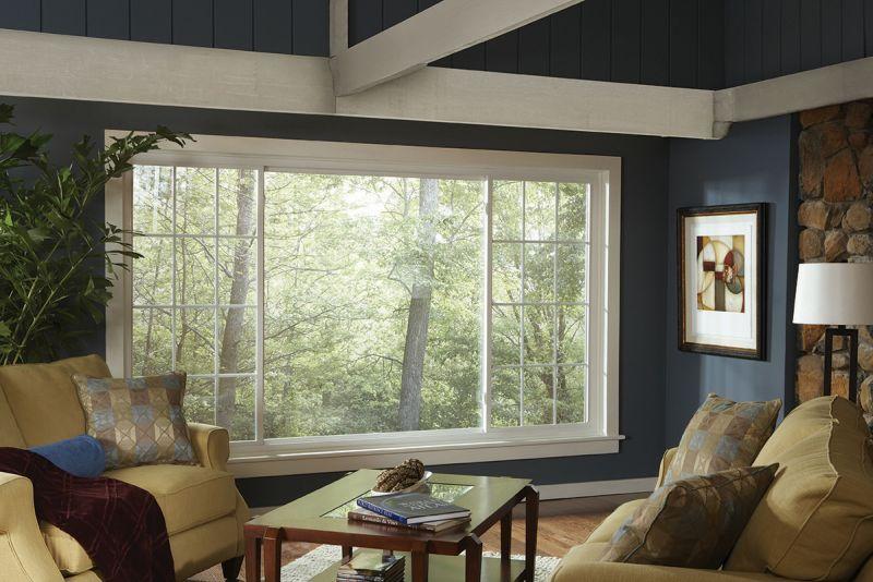 Modern Slider windows for living room