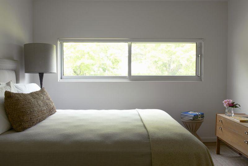 Modern Slider windows for bedroom