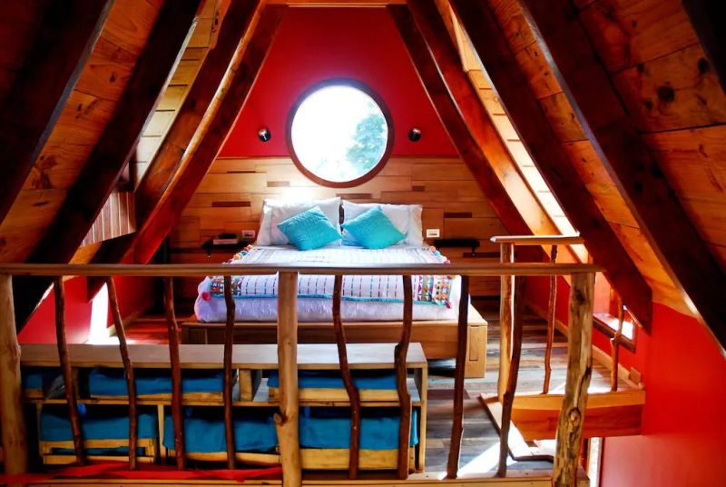 This Airbnb Rental in Chile Lets You Camp Right Next to a Volcano