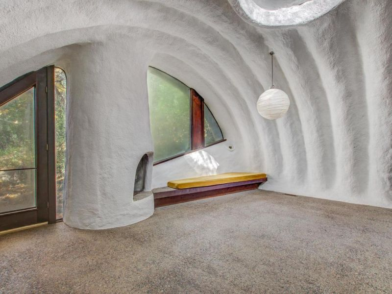 70s Earth Berm House in Wisconsin is Out for Sale