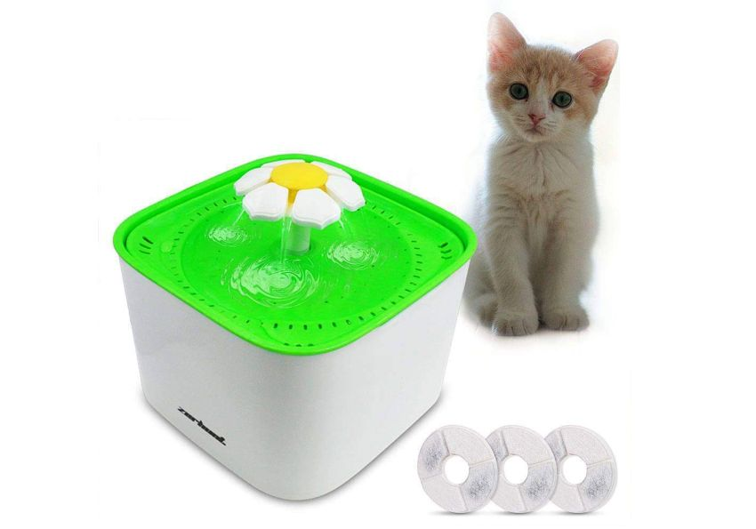 Zerhunt Pet Water Fountain - Gift ideas for pet lovers